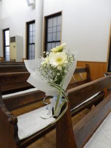 結婚式 花