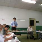 徳山英学会での講演の様子