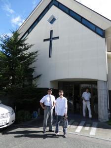 岡田牧師と