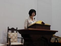 上田神学生説教ヨコ向き