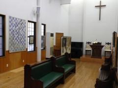 礼拝堂美術館の様子