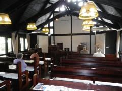 落ち着いた礼拝堂