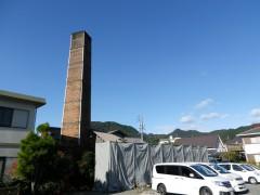 煙突と教会