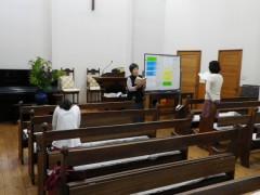 教会学校の様子