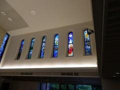 礼拝堂のステンドグラス