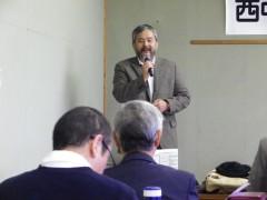 二日目の司会:筒井牧師(下松教会)