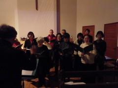 聖歌隊による奉唱