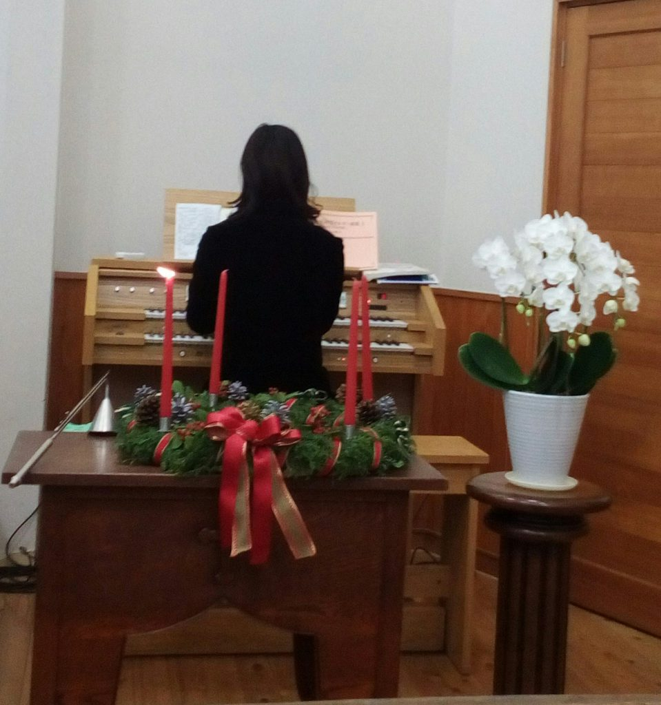 12月3日 アドヴェント礼拝&ツリー点灯式