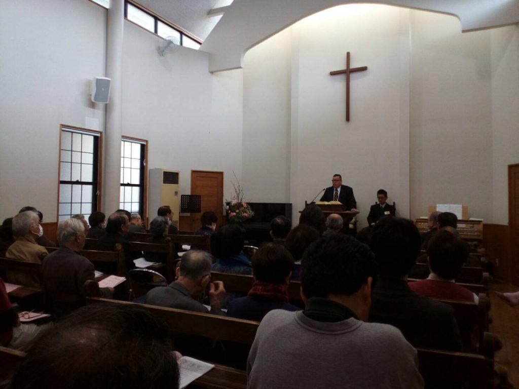 3月11日 山口中分区信徒大会